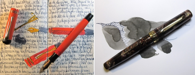 MONTBLANC CORAL RED wahl doric