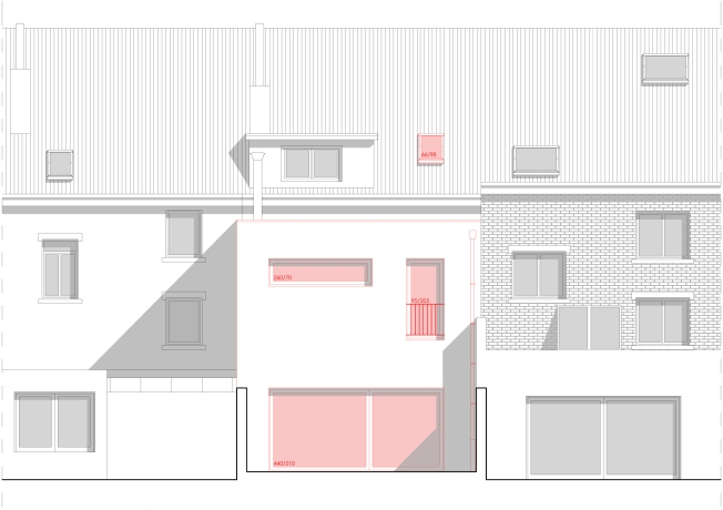 Rénovation d'une maison mitoyenne